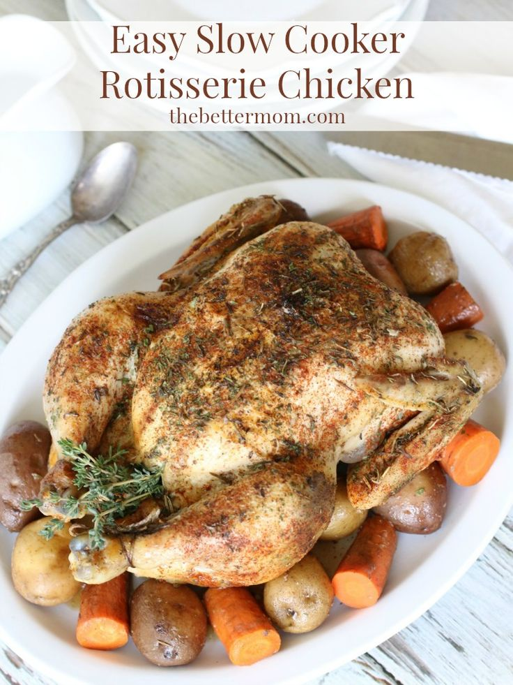 1000 images about crock pot recipes on pinterest stew for Healthy slow cooker chicken recipes