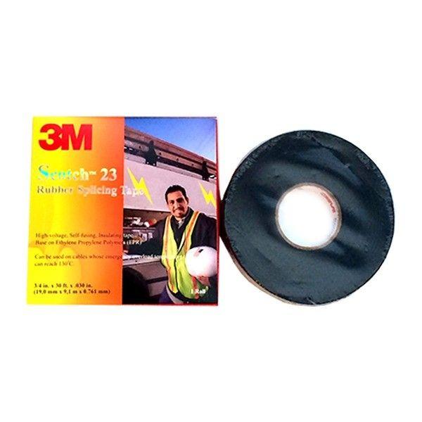 Scotch 23 Rubber Splicing Tape - 3/4 in x 30 ft.   - Harga per roll.  http://tigaem.com/isolasi-electrical-tape/170-scotch-rubber-splicing-tape-23-3-4-in-x-30-ft.html  #scotch #rubbersplicingtape #isolasi #3M