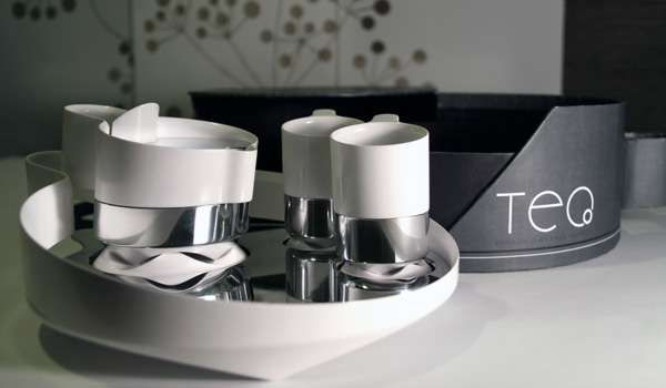 Tea for Two by Paul Hoover is Clean and Contemporary #tea #teaaccessories