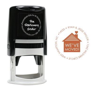 New Home Self-Inking Stamper