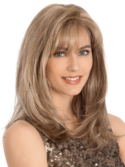 Jennifer Petite Monofilament Wig by Louis Ferre   HSW Wigs