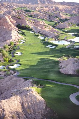Wolf Creek Golf Course in Mesquite, Nevada [ ArtOfGolf.com ] #trending #art #golf