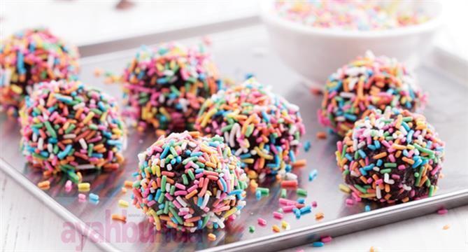 :: Bola-bola Cokelat :: Kue dan Puding :: Resep :: Ayahbunda ::