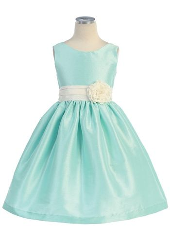Addie would look awesome in this dress as a flower girl!