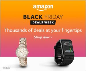 Black Friday deals... what about a watch ?