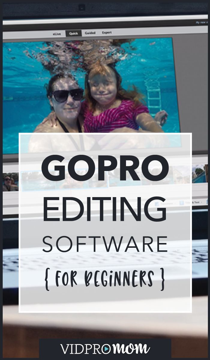 GoPro editing is a little daunting at first! Here are my best recommendations for TOTAL GoPro beginners when it comes to video editing software. Thanks for pinning!