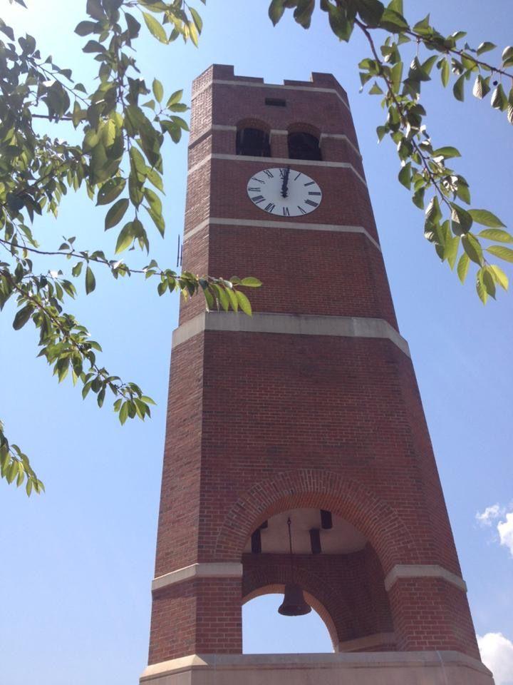 Western Carolina University Clock Tower
