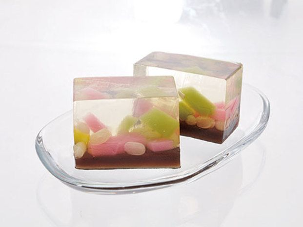 Sorbetlicious Japanese Wagashi–Jello Cubes