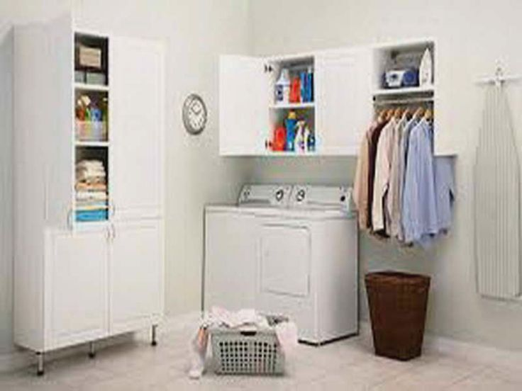 Laundry Storage Solutions For Small Spaces - http://houzzdecor.xyz/20160913/laundry-design-ideas/laundry-storage-solutions-for-small-spaces/1993