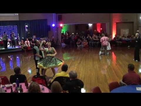Melb Open Dance Championship 2016 Under 45s Novice - Fast - YouTube