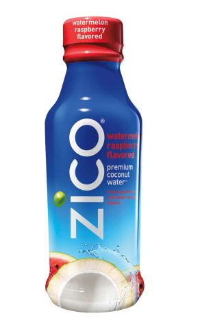 This Zico Coconut Water Flavor Tastes Like Watermelon and Raspberry #coconut trendhunter.com