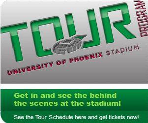 U of Phoenix Stadium Tours