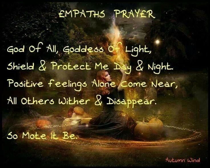Empath's Prayer