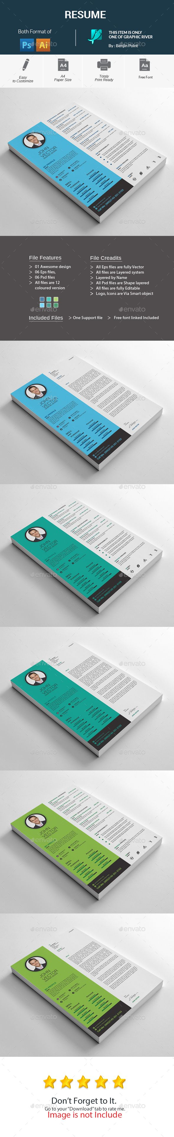 20 best Resume images on Pinterest | Resume templates, Cv template ...