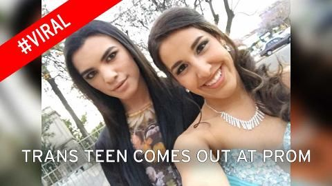 Transgender teen comes out at prom night - and documents the entire experience