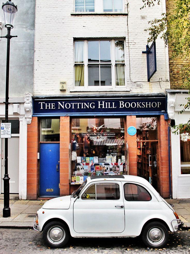 The Notting Hill Bookshop | 13 Blenheim Crescent, Notting Hill, London.