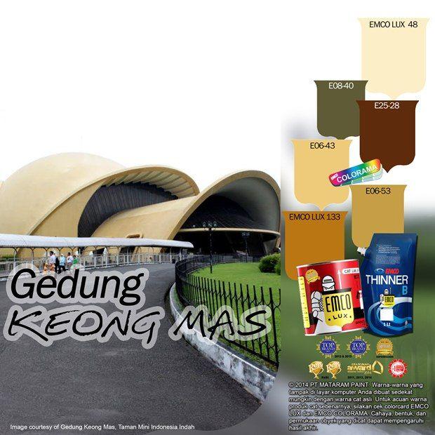 Taman Mini Indonesia Indah #Future  #Color #EMCOPaint http://matarampaint.com/detailNews.php?n=368