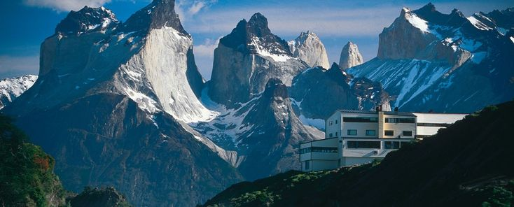 Patagonia South America Hotel in the middle of Torres del Paine National Park. Patagonia Glaciers, Hikes, Horseback Rides & Unique Views