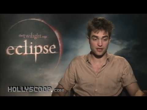 HOLLYSCOOP Eclipse press junket interview 2010
