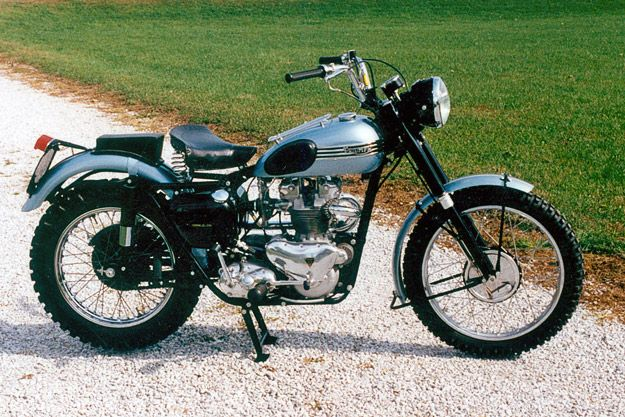 James Dean's 1955 Triumph Trophy -- if I ever get another motorcycle, I'd like to own one of these.