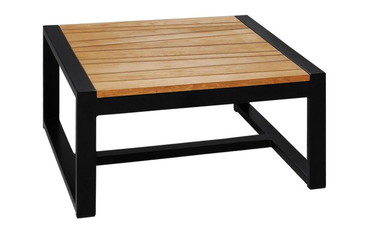 Allux Mazzamiz Square Teak Coffee Table | Viesso