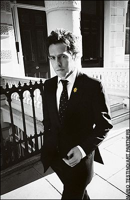 Here's a lovely picture of Hugh Grant being attractive. Okay, carry on.