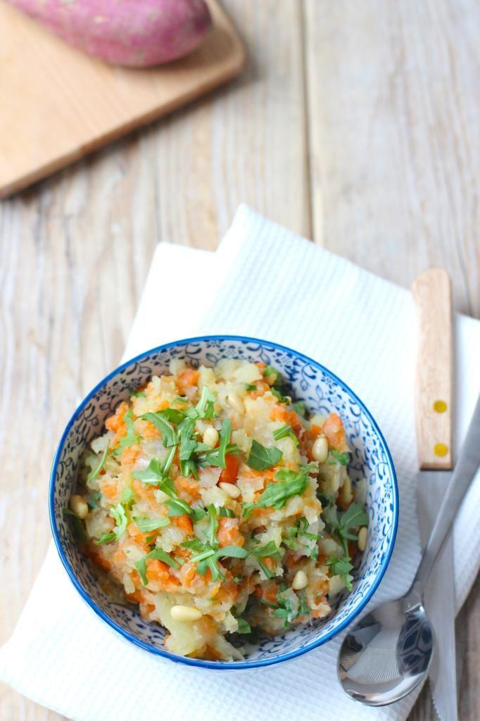 Hutspot met zoete aardappel - Lekker en Simpel