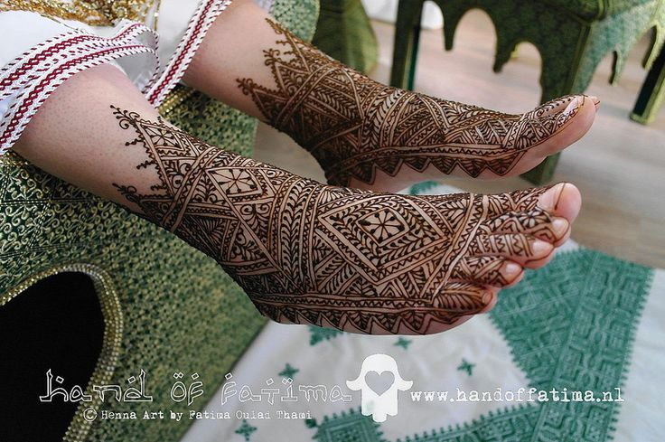 Youyouyouyou (zaghareet) Another Fessia henna for a lovely bride Voeten van een marokkaanse bruid www.handoffatima.nl