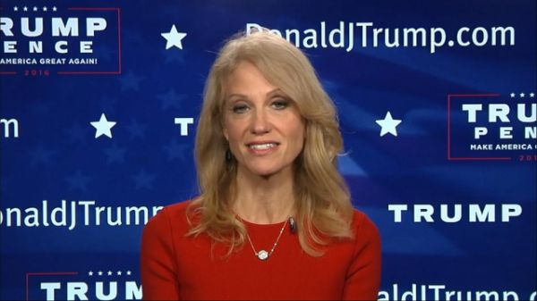 """Donald Trump's campaign manager Kellyanne Conway told ABC News tonight that she's disappointed in some Republican leaders for not voting for the GOP presidential nominee. Conway told ABC's George Stephanopoulos that """"it doesn't help"""" that some Republican leaders, such as George H.W. Bush, George W. Bush, John McCain and Mitt Romney, did not vote for Trump today."""