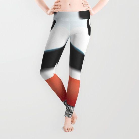 Panda Swimmer Leggings