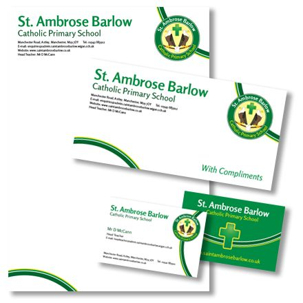 7 best school stationery products images on pinterest school school stationery letterheads business cards st ambrose colourmoves