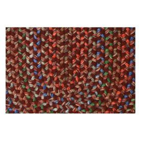 $5 Off when you share! Rhody Rug Kristyn KR43 Burgundy Rug | Outdoor Rugs #RugsUSA