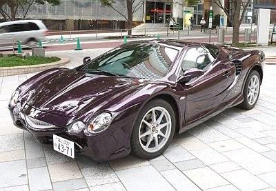 Mitsuoka 2005 Ryoga, a modified Nissan Sunny (B15) #provestra