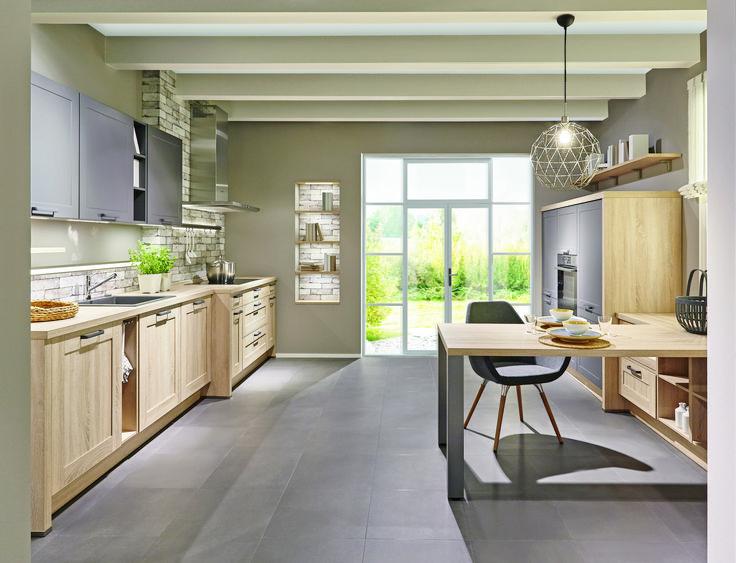Die besten 25+ Holzküche Ideen auf Pinterest Modernes - küchen in holzoptik