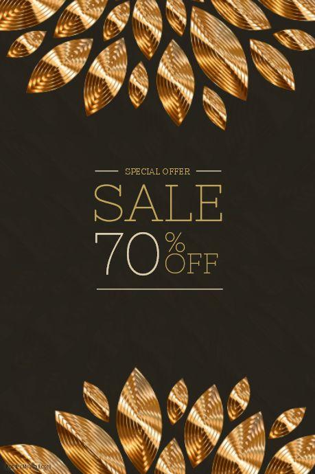17 best Sale flyer template images on Pinterest Flyer template - for sale poster template