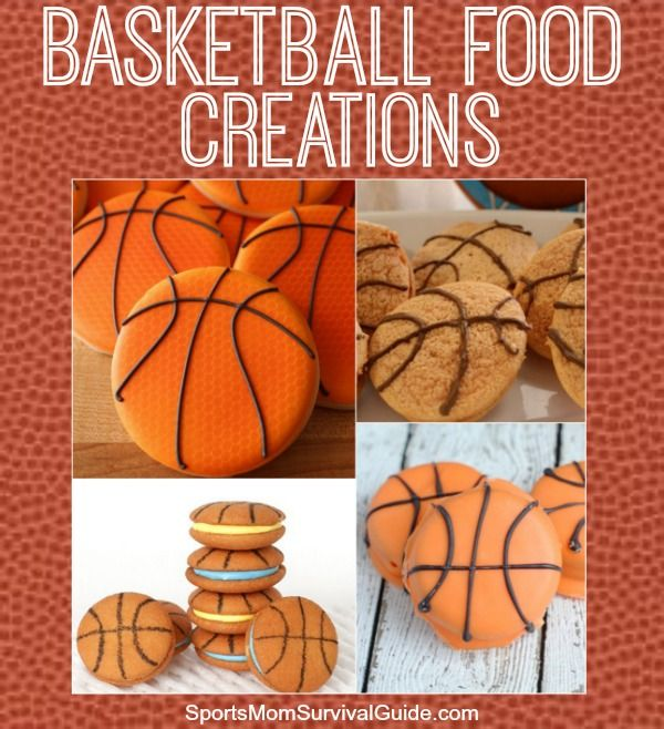 Find an easy way to decorate basketball cookies and get a free printable tag for you next party or end of season!
