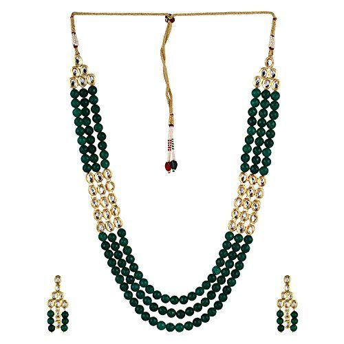Traditional Indian Bollywood Designer Green Kundan Beads ... https://www.amazon.com/dp/B01MQZA4J5/ref=cm_sw_r_pi_dp_x_pHtVyb0W0DX5Y