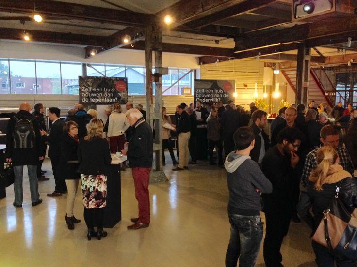 Zelfbouwcafé 13 oktober 2015 in Biesboschhal Stadswerven