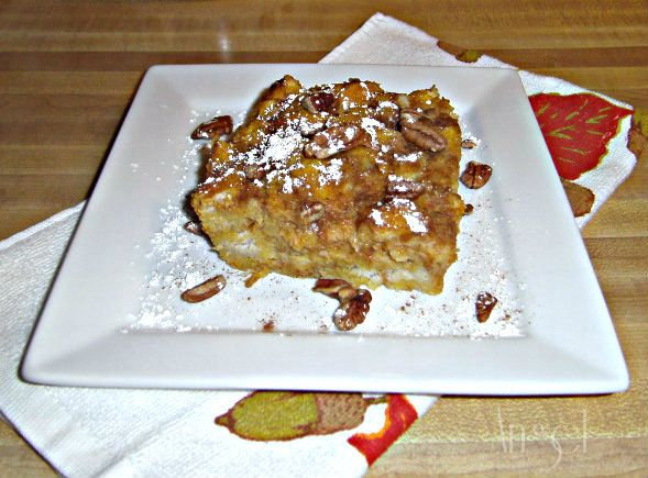 Pumpkin Pie French Toast Bake | Delectable Treats to Try | Pinterest