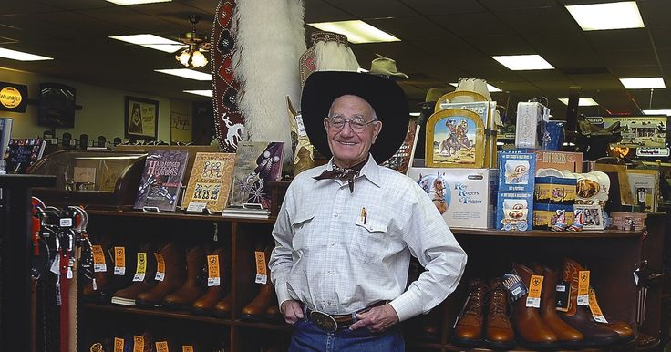 In 1957, Weldon Burgoon bought a sewing machine and opened Weldon's Saddle Shop & Western Wear in Denton, a place to sell the hand-crafted goods he made, like saddles and belts. After more than 50 years in the shop, Burgoon, now 86, is retiring after the upcoming holiday season.
