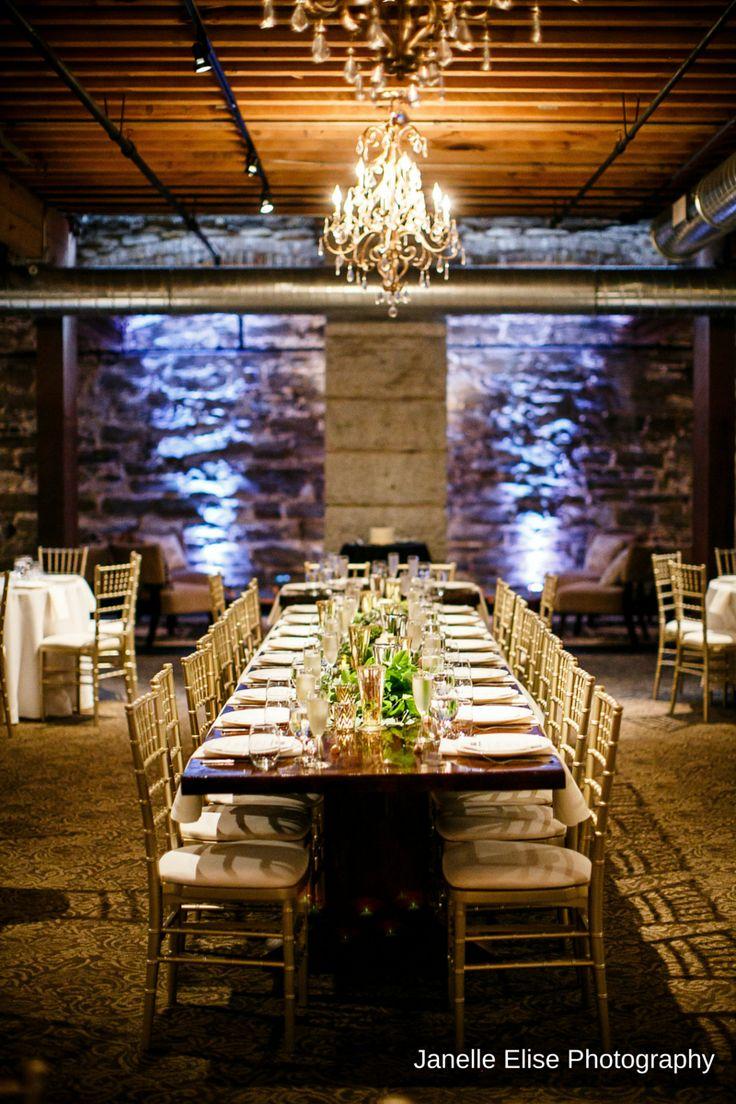 wedding reception restaurants mn%0A Wedding reception flowers designed by Minneapolis wedding florist Artemisia  Studios at the Lowertown Event Center in Minnesota