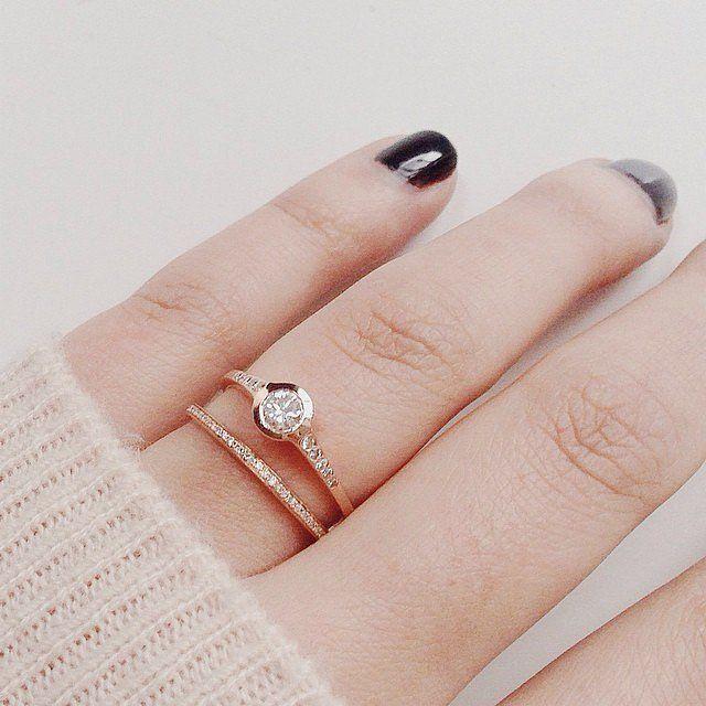 17 mejores ideas sobre anillos de compromiso vintage en pinterest anillos de compromiso - Anillos de compromiso sencillos ...