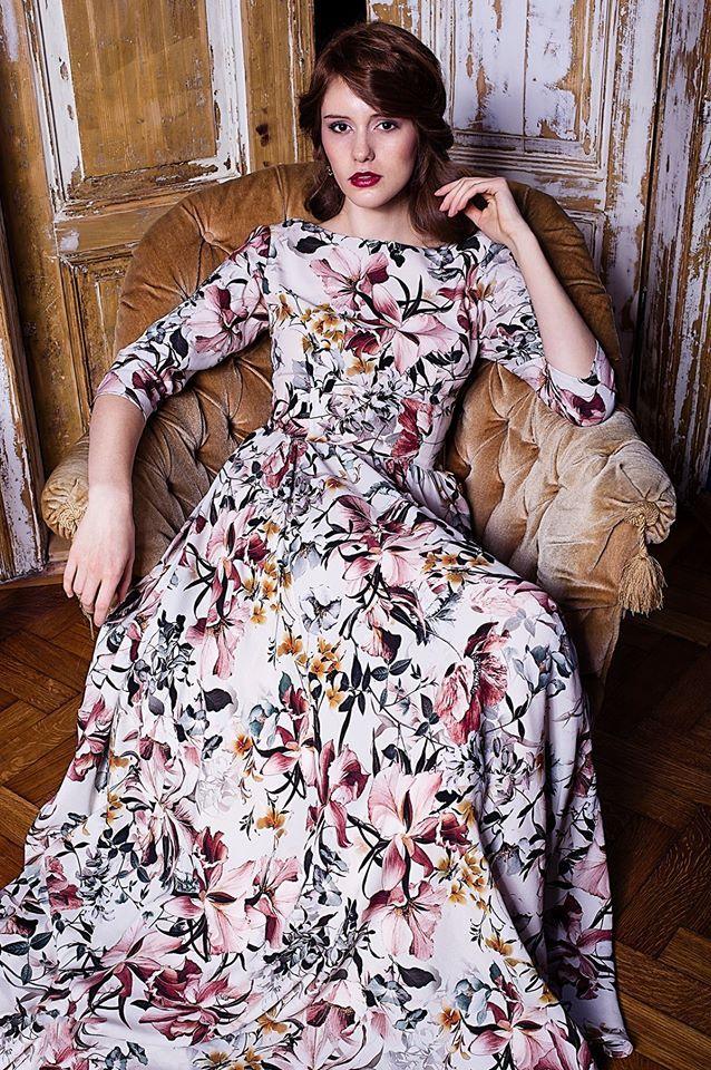 Maria Mrowca / Mrovca Fashion, graduate of Fashion Collage SAPU. #dress #fashion #SAPUkrakow #szkolamody #fashionschool