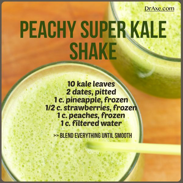 This link for super kale smoothie is still working