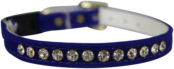 OmniPet Velvet Rhinestone Breakaway Cat Collar * Hurry! Check out this great product : Cat Collar, Harness and Leash