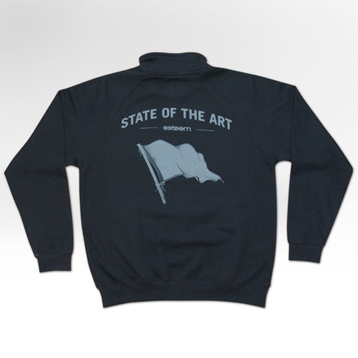 STATE OF THE ART sweat-jacket  (back view)