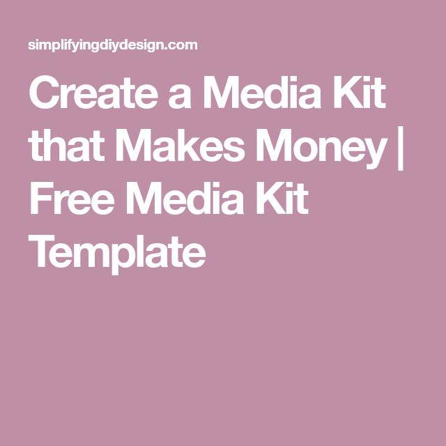The 25+ best Media kit template ideas on Pinterest Media kit, A - rate sheet templates