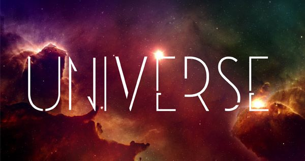 Free Font Of The Day--Universe