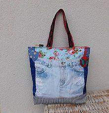 Veľké tašky - Džínová...taška*zips* - 6524211_