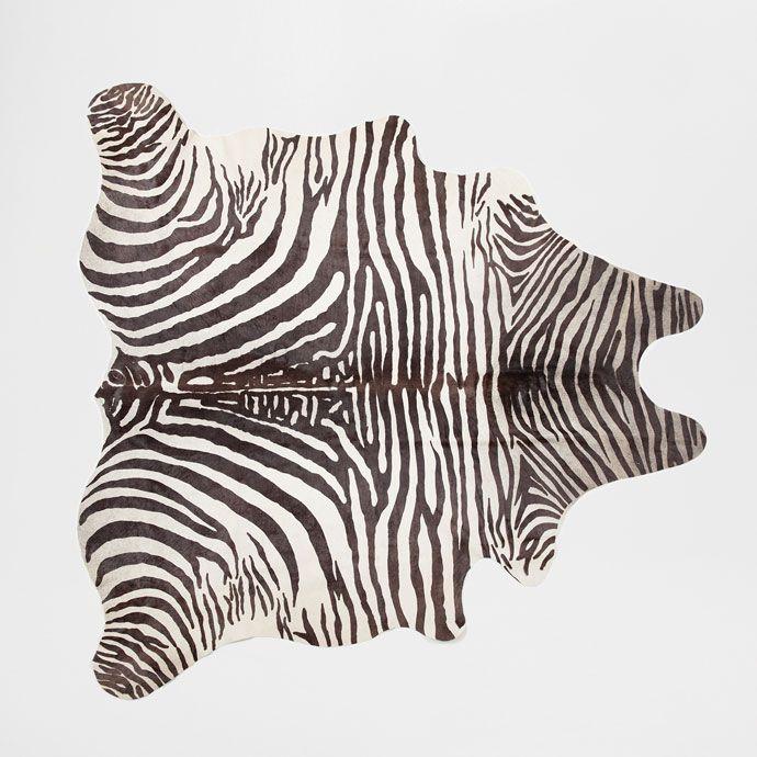 Die besten 25+ Zara home zebra rug Ideen auf Pinterest - schlafzimmer zebra